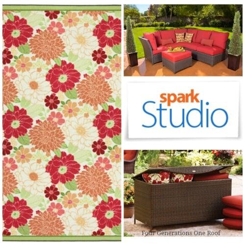 outdoor patio furniture spark studio collage