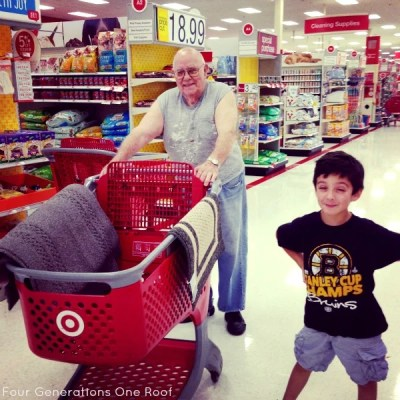 Multigenerational Family {my grandfather shops Target}