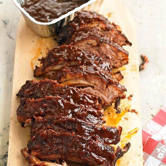 smothered ribs