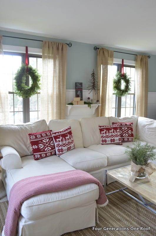 christmas home tours 2012