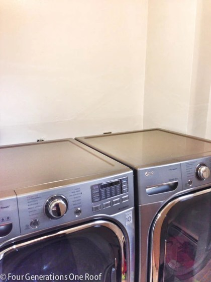 laundry room makeover update