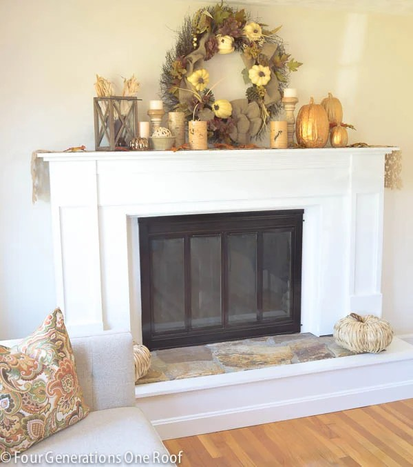 how to paint fireplace brass surround-1