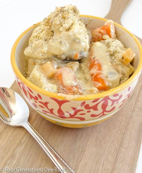 easy chicken and dumplings crockpot recipe