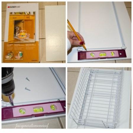 closet organization project