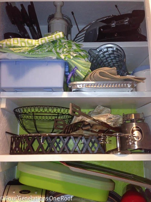 The start of our kitchen pantry {closet}