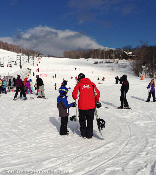 stowe mountain lodge ski trip