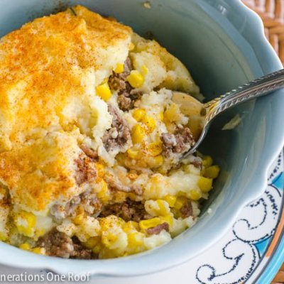 Our 30 Minute Easy Shepherd's Pie