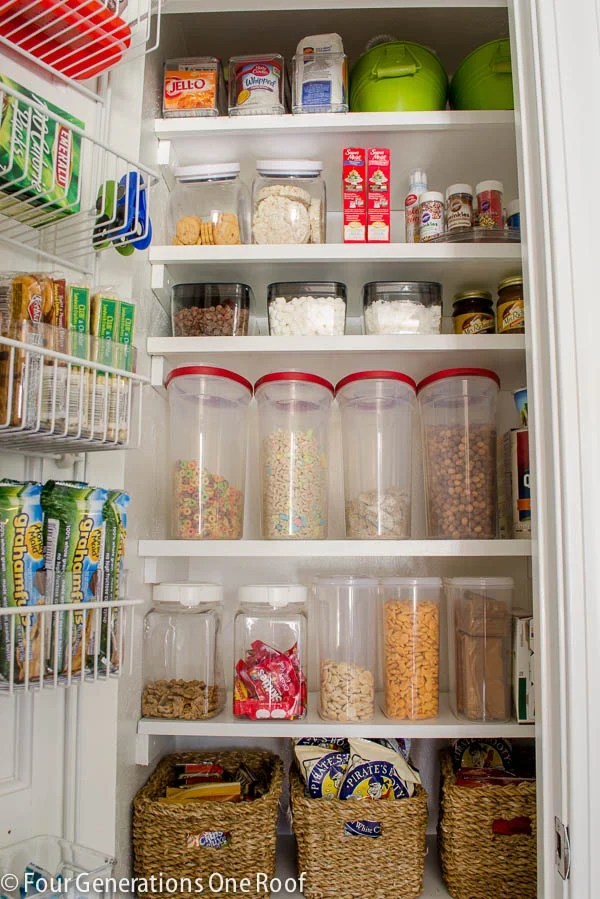 9 Kitchen Organizing Tips. How to turn a closet into an organized food pantry