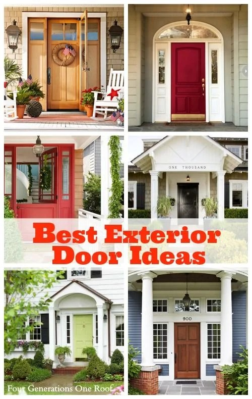 best exterior door ideas
