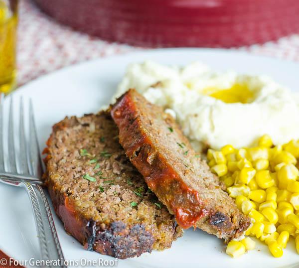 easy meatloaf dinner