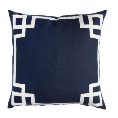 Fabulous navy pillow finds {study update}