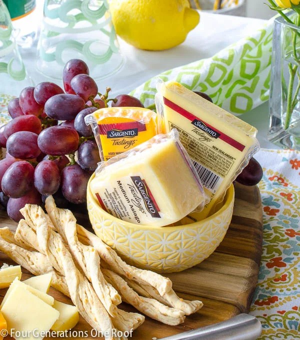 how to make a cheese platter www.fourgenerationsoneroof.com