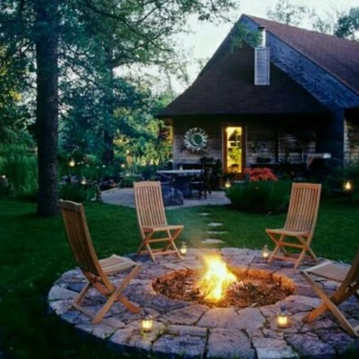 DIY Fire Pit Ideas {our camping adventure begins}