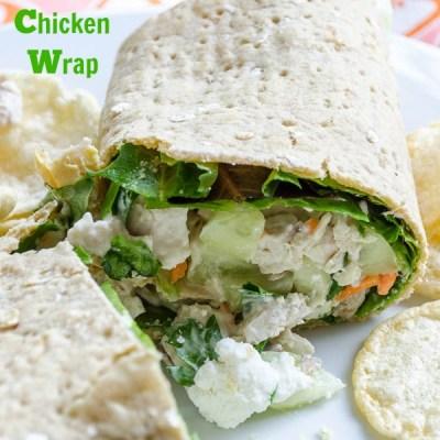Favorite Chicken Wrap {love this!}