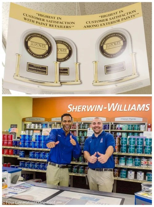 Why I love my Sherwin-Williams store #SWshoutout