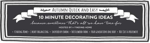 DIY Fall Pumpkin Planter 10 minute decorating idea