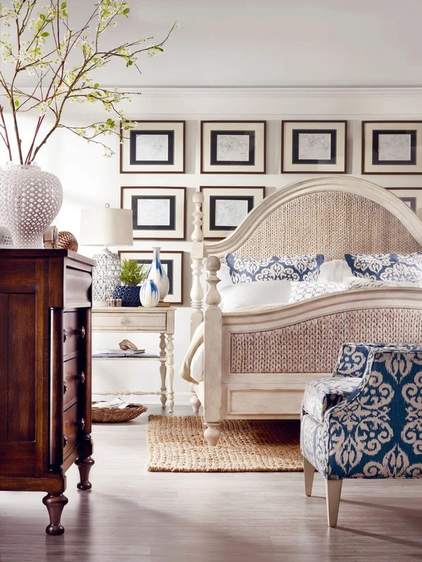 gorgeous master bedrooms coastal style + wall gallery