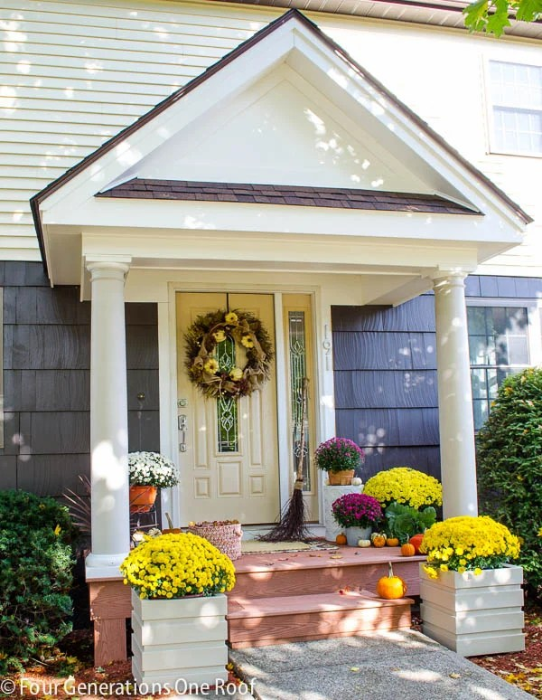 Our New Portico - curb appeal reveal. Must see the before!