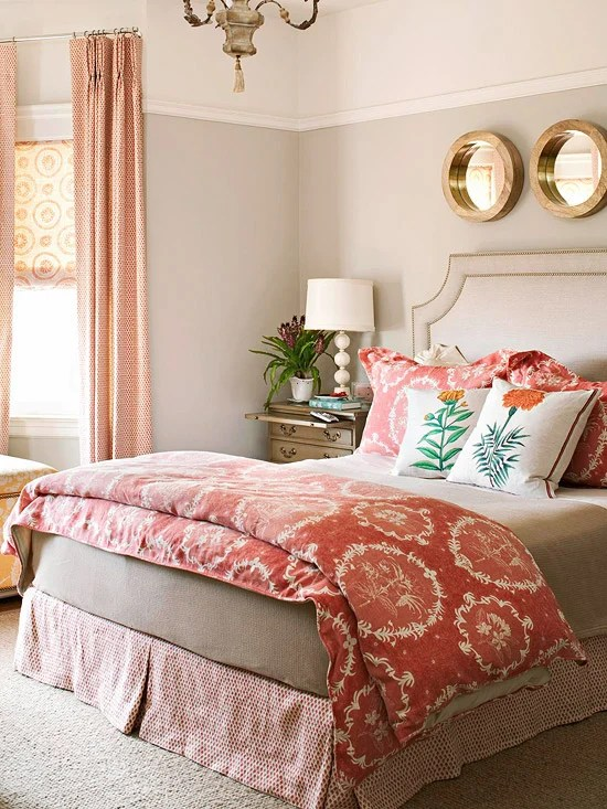 gorgeous master bedrooms coral