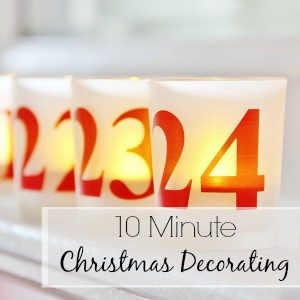 10 minute Christmas Decorating Thistlewood