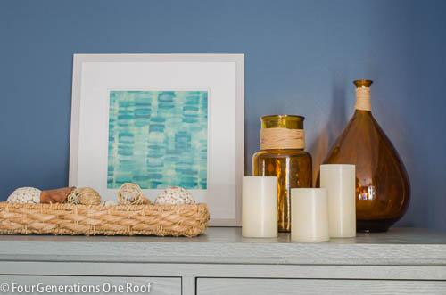 Gorgeous Navy blue master bedroom makeover -11
