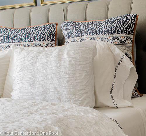 Gorgeous Navy blue master bedroom makeover -6