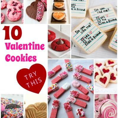 Try This: 10 Cookie Recipes for Valentines Day