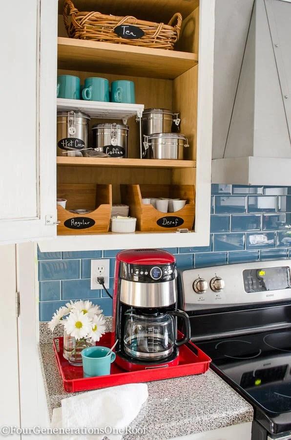 DIY Coffee Station-7