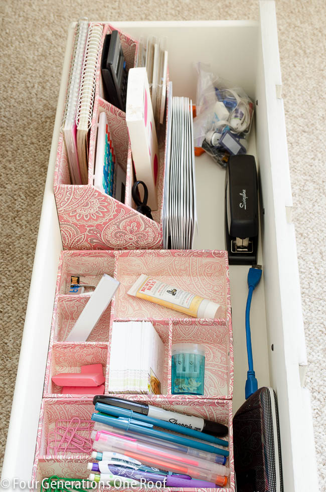 Office drawer organization-9