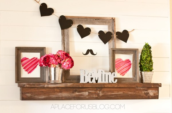 Decorating for Valentine's Day - valentines decoration