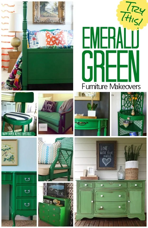 Emerald-Green-Furniture-Makeovers