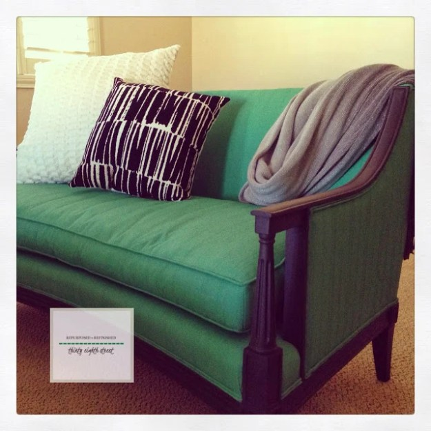 chalk-painted-green-couch