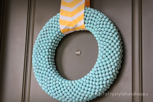 gumball-wreath