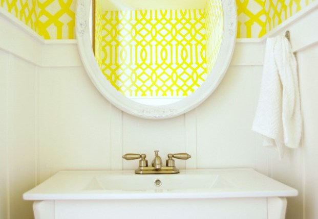 half-bath-yellow-wallpaper