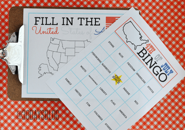 July-4-kids-printables fourth of july party ideas