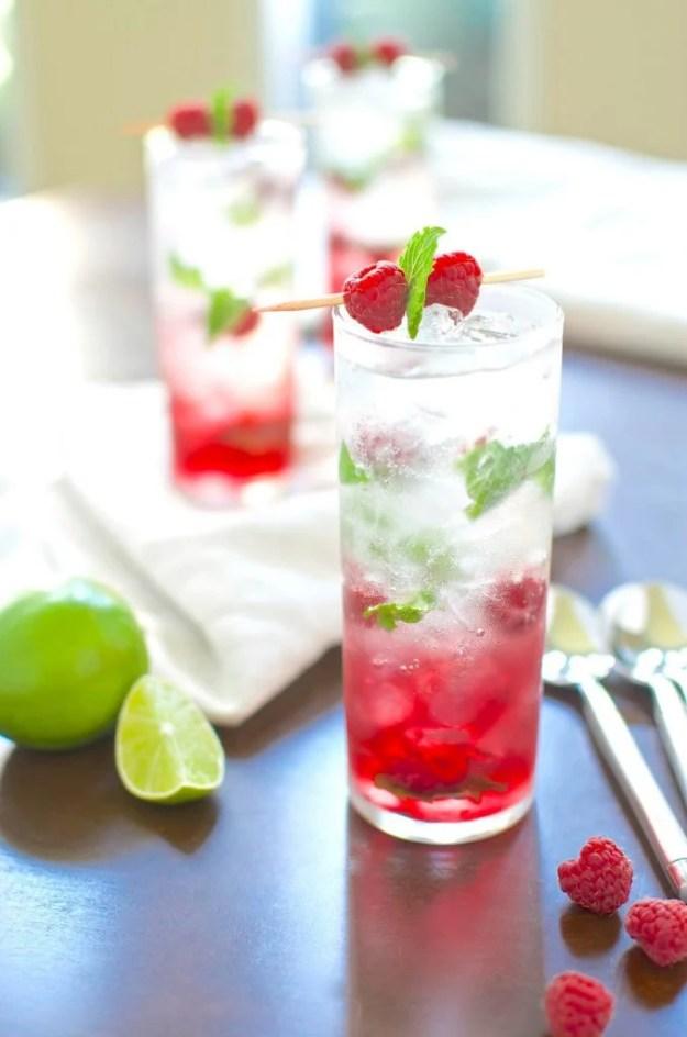 Raspberry-Grapefruit-Mojito