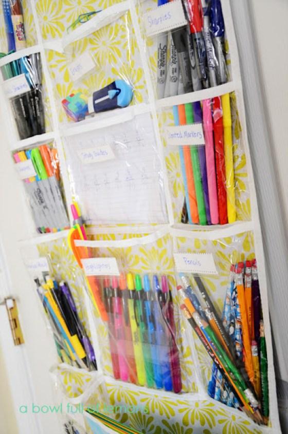 Door-Organizer-School-Supplies