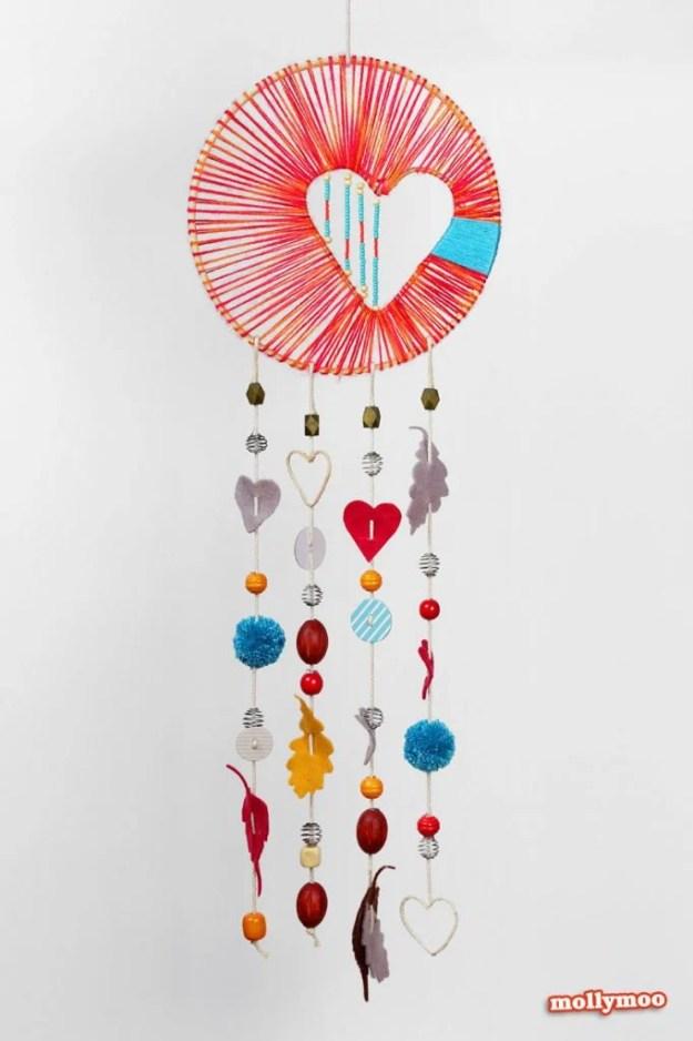 Dreamcatcher-heart-string-art