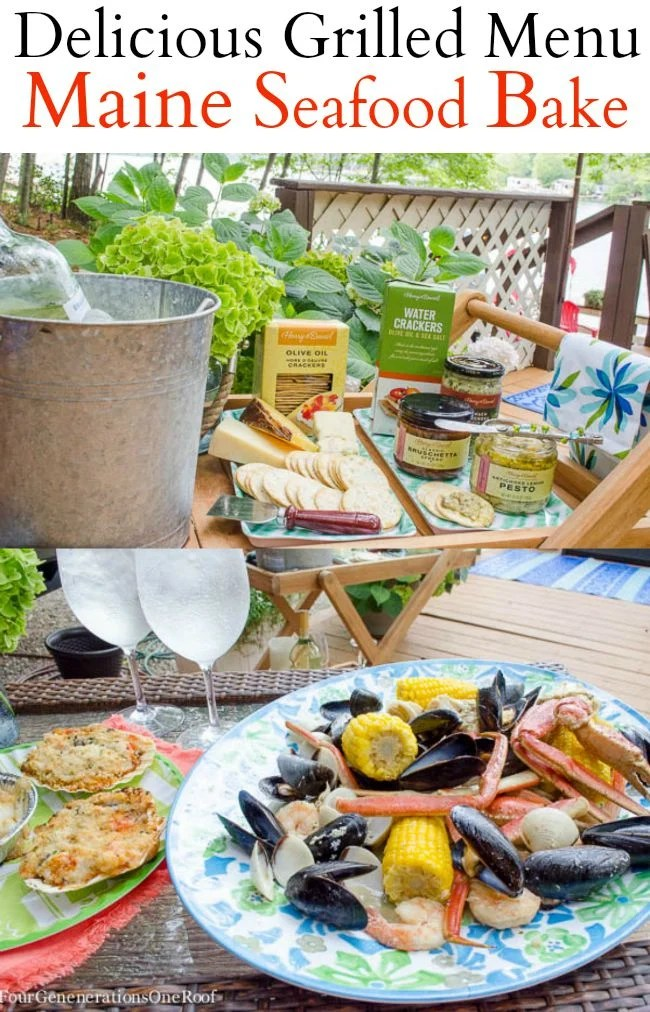Our Seafood Bake / Summer Entertaining