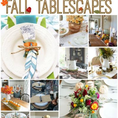 TRY THIS: A Fall Tablescape