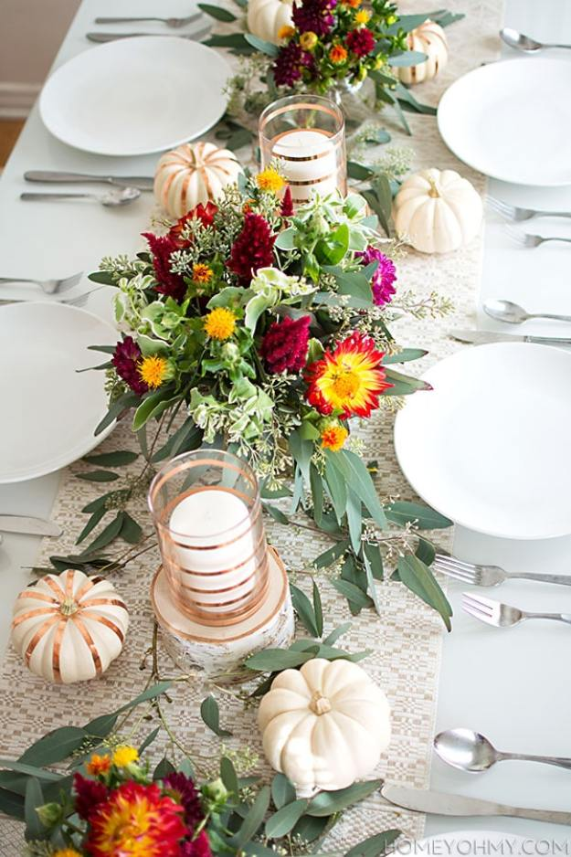 gold-stripes-bright-florals-tablescape