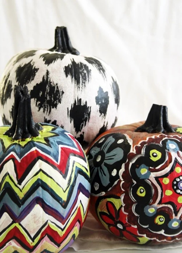 painted-pattern-bright-pumpkins