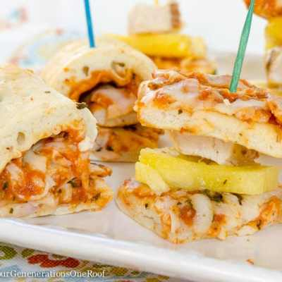 Our Chicken, Pineapple and Pizza Appetizers