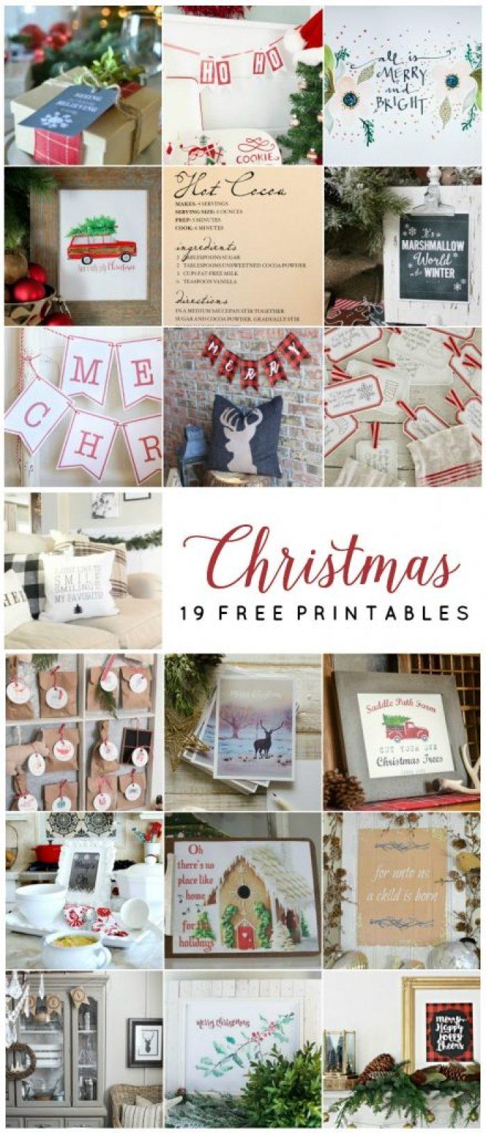 19 Free Christmas Printables - Christmas Printable Ho Ho Ho