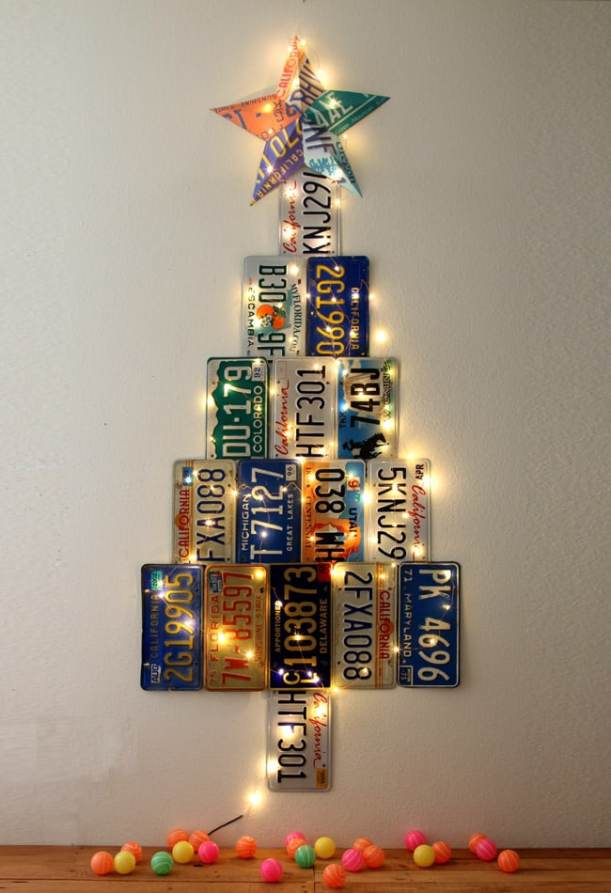 license-plate-christmas-tree