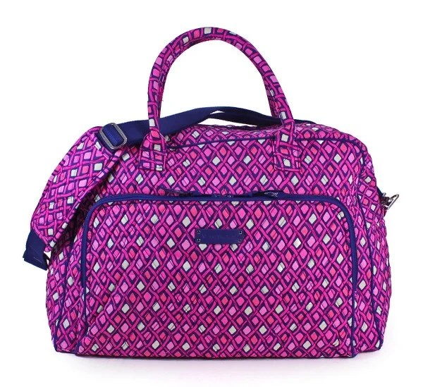 Teenage Girl Holiday Gift Guide 2015: vera bradley weekender bag