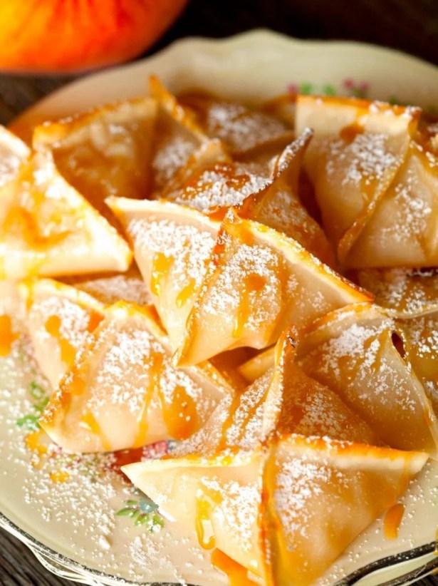 peach-wontons