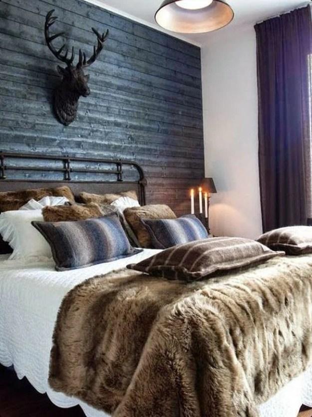 36-cozy-master-bedrooms-furry-bed