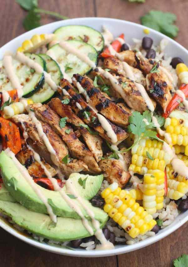 BBQ_Ranch_Grilled_Chicken_Veggie_Bowls-4