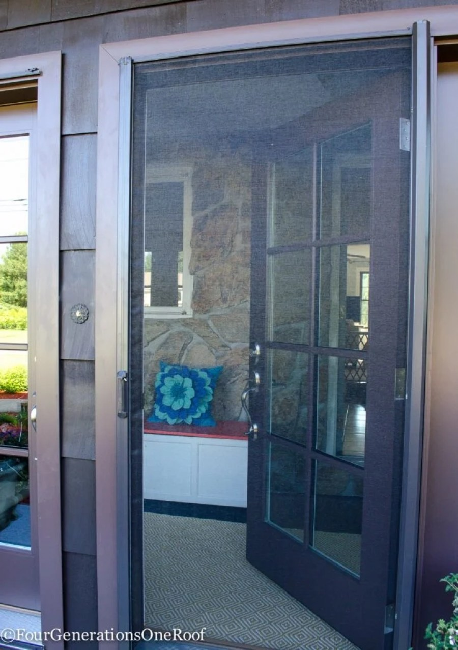 New Patio Doors - foyer Renovation Vista Grande Patio Doors Reveal